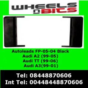 Autoleads FP-05-04 AUDI A2 2000-2005 Black Fascia Facia Adaptor Panel Surround