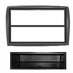 FP-01-13 Citroen Jumper Black Single Din Fascia Facia Panel Adaptor Surround CD