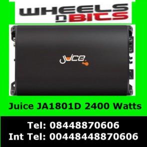 Juice 2400 Watt Class D Juice Ja1801D Car Amp Amplifier for Sub Subwoofer