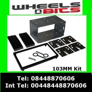 Autoleads DFPK-103 Universal Black 103mm Double Din Fascia Fascia Cage Kit