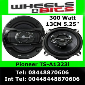 Pioneer TS-R1350s 13cm 3 Way Coaxial Speakers Door Shelf 250 Watts x2 speakers