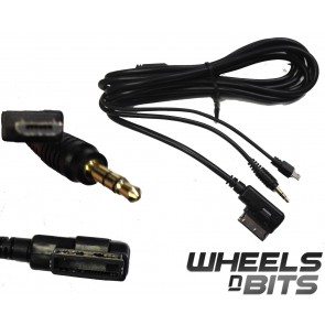 MMI to Mini Hdmi fits VW POLO TUIGUAN 09> suits HTC SAMSUNG BLACKBERRY HUAWEI LG