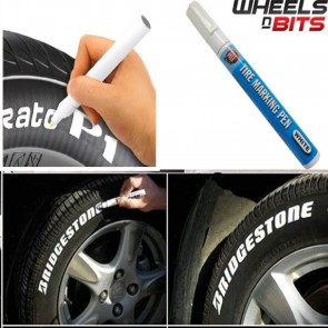 4 Pk Car Motorcycle Cycle Tyre permanent Silver paint marker pen most surfaces