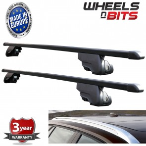 Wheels N Bits Black Steel Roof Rack for Integrated Bars BMW 5 Series Touring G31 2010 to 2016