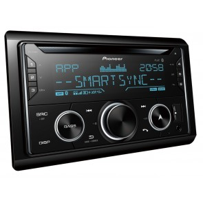 Pioneer New FH-S720BT Double Din Bluetooth, USB, Compatible with Android iPhone