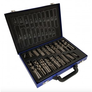 170pc HSS Drill Bit set Metric Sizes 1 to 10mm High Quality in Metal Case 4241