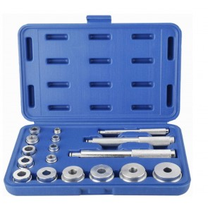 Wheels N Bits 17pc Aluminium Wheel Bearing Race Seal Bush Driver Set Garage Tool Kit 10-42mm