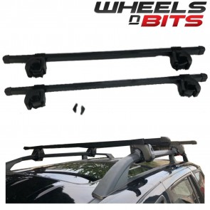 Wheels N Bits Roof Rail Bars Locking Type 60 Kg Rated To Fit Audi 100 Avant Estate 92-94