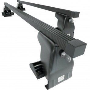 Wheels N Bits Gutterless Roof Rack D-1 Plus To Fit Honda Civic Shuttle MPV 5 Door 1988 to 1994 120cm Steel Bar with Locking End Caps