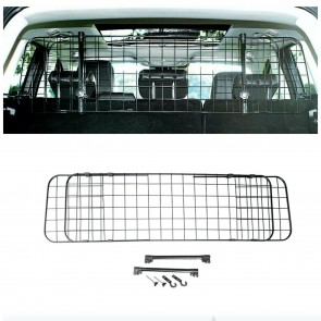 Wheels N Bits Standard Dog Guard Car Headrest Travel Adjustable Mesh Grill Pet Safety Metal for Mitsubishi