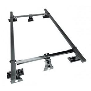 Wheels N Bits Gutterless Roof Rack D-1 +3D To Fit Hyundai Accent mk II; Hatchback 3 Door 2000 to 2002 120cm Steel Bar