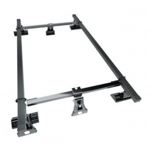Wheels N Bits Gutterless Roof Rack D-1 +3D To Fit Land Rover Freelander mk I SUV 3 Door 1998 to 2003 140cm Steel Bar