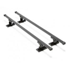 Wheels N Bits Fixed Point Roof Rack C-15 To Fit Fiat Stilo Hatchback 5 Door 2002 to 2007 120cm Steel Bar