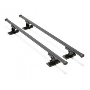 Wheels N Bits Fixed Point Roof Rack C-15 To Fit Seat Leon mk I Hatchback 3 Door 1999 to 2005 120cm Steel Bar