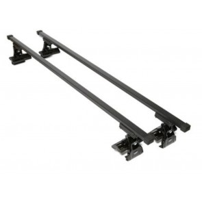 Wheels N Bits Gutterless Roof Rack D-1 To Fit KIA Venga Hatchback 5 Door 2010 Onwards 120cm Steel Bar