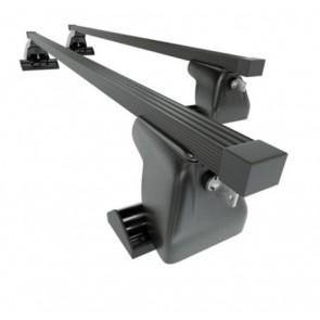 Wheels N Bits Fixed Point Roof Rack C-15 Plus To Fit Citroen Berlingo mk III Van 4/5 Door 2019 Onwards 140cm Steel Bar with Locking End Caps