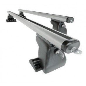 Wheels N Bits Fixed Point Roof Rack C-15 Plus Areo To Fit Ford Tourneo Courier; MPV 5 Door 2013 Onwards 140cm Aluminium Bars